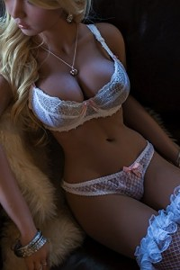 Full Size Tan Silicone Sex Doll