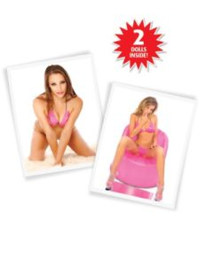 Pipedream Extreme Dollz Slutty Sisters 2 Life-Size Love Dolls