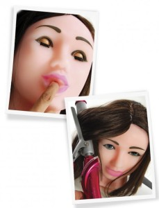 F*ck My Face Doll from Pipedream Products
