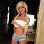 Sherry Silicone Sex Doll - Blonde Thin Sex Doll