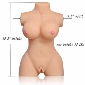 Best Masturbator - Torso Sex Doll - Men's Small Travel Sex Doll