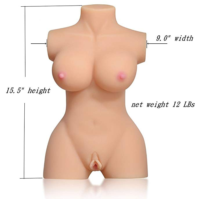 Best Masturbator - Torso Sex Doll - Men's Small Travel Sex Doll