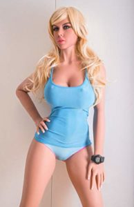 Blonde Sex Doll with Amaizng Face - Upturned Nose and Deep Eyes