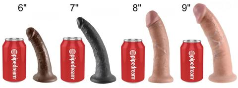 Pipedream Dildo Sizing Chart